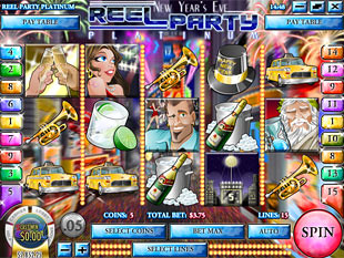 Reel Party Platinum Slot Machine