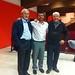 """De izquierda a derecha: José Manuel """"Pericles"""", Francisco García Rodríguez y Enrique del Río Martín, ponentes del tercer encuentro del Espacio La Palma, oportunidades de futuro"""