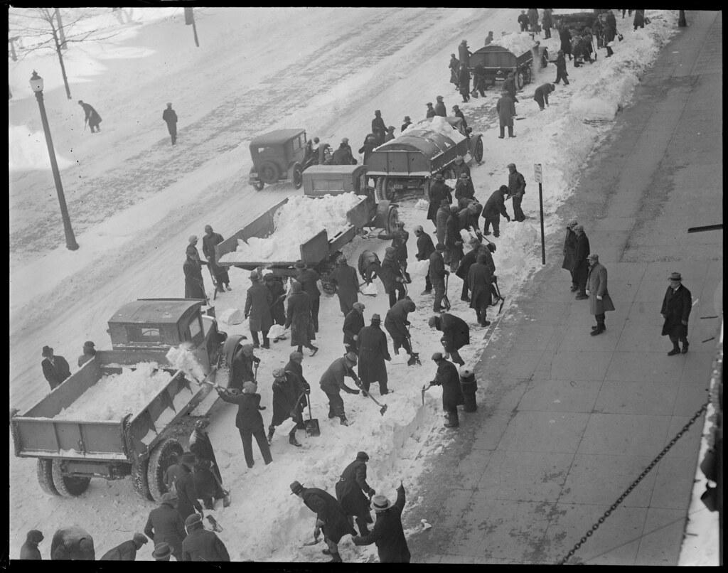 Tremont St. snowstorm