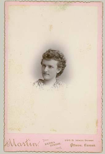 Cabinet Card  young woman