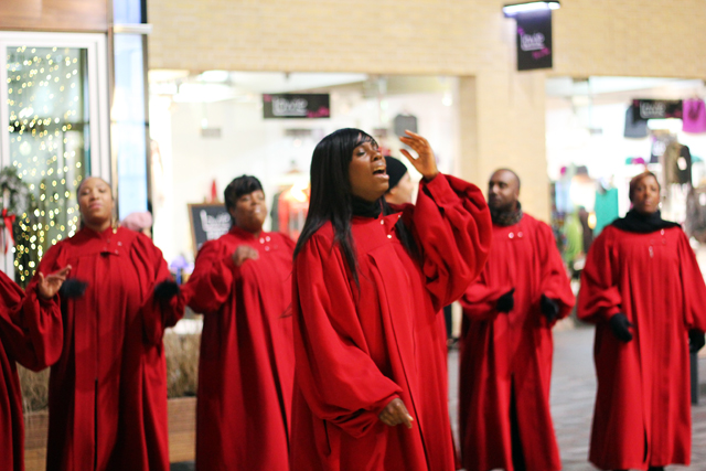 gospel choir covent garden love actually