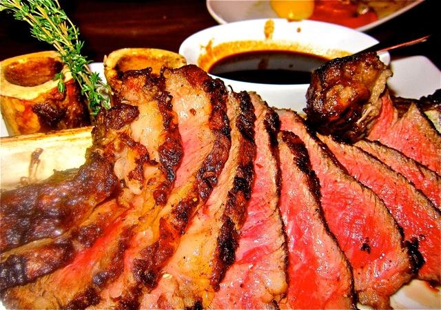Tomahawk Ribeye Steak for two