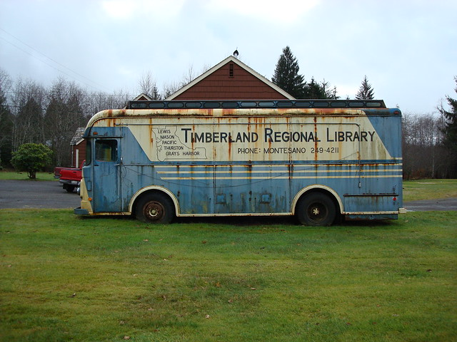 Bookmobile, Timberland Regional Library 1