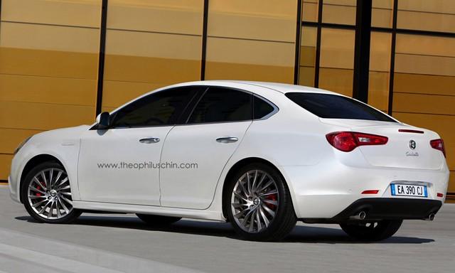 Espías Alfa Romeo Giulia