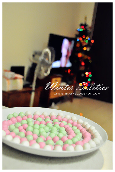 Happy Winter Solstice 2011: Glutinous Balls Making