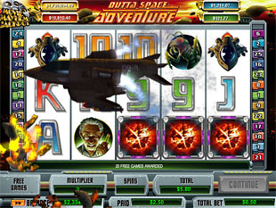 Outta Space Adventure Slot Machine - Play for Free Online