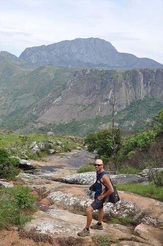 Descending the Mulnje massif