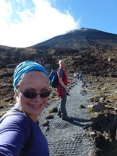 Tongariro Alpine Crossing - onderweg naar South Crater - 2