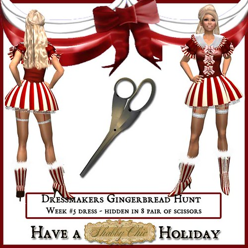 Shabby Chic Dressmakers Gingerbread Hunt Week 5 by Shabby Chics