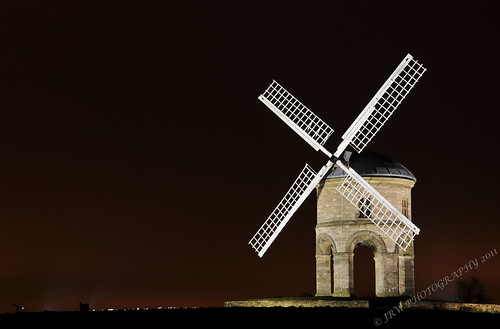 Chesterton Windmill By Floodlights