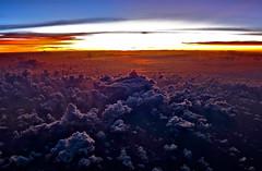 [フリー画像素材] 自然風景, 朝焼け・夕焼け, 雲, 雲海 ID:201112272200