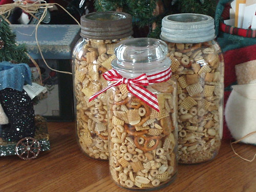 Jars of nuts and bolts
