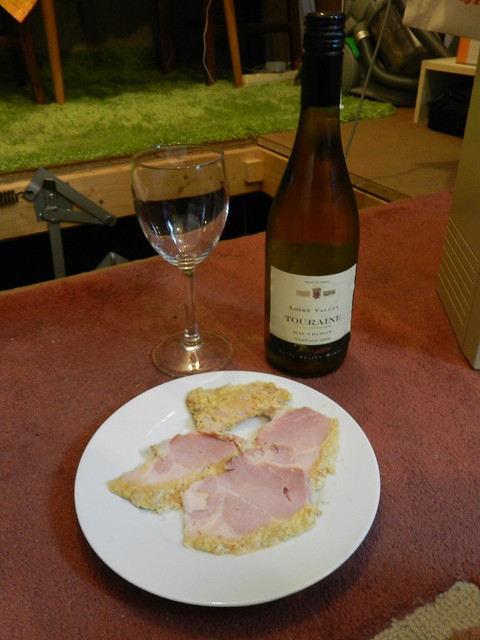 Ham and vino