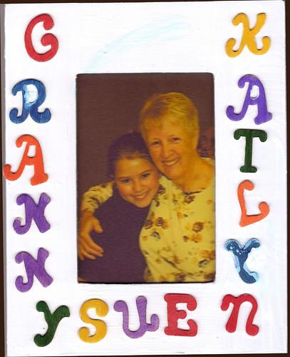 Granny Sue and Katlyn