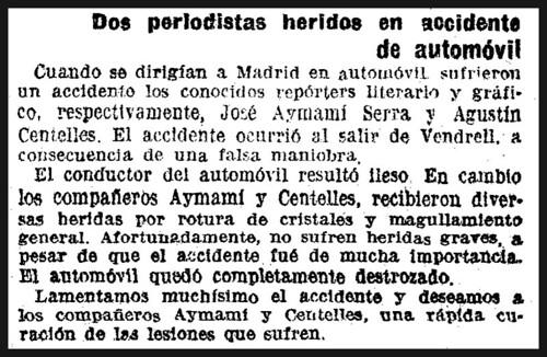 """Detalle de """"La Vanguardia"""" del 24 de diciembre de 1936. by Octavi Centelles"""