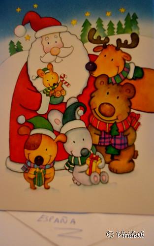 Christmas Card From ??? / Tarjeta de Navidad desde ?? by virideth
