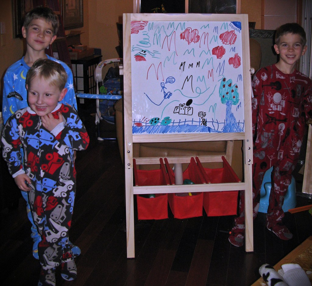 1ef84a100b Boys in new footie pajamas