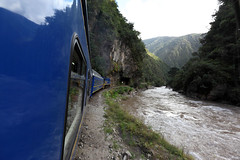 Sacred Valley train trip