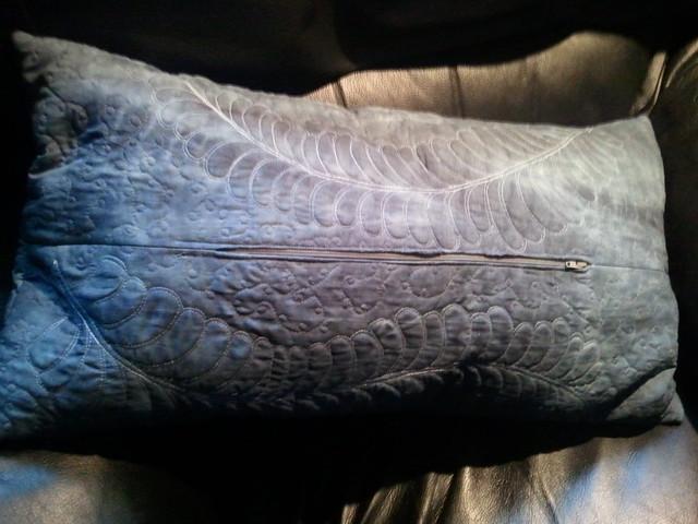 finished cushion back