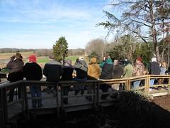 Birders at Hiwassee Refuge, TN