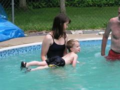 Aidan Learning to Swim
