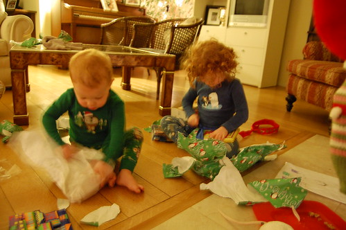 Christmas morning Frenzy