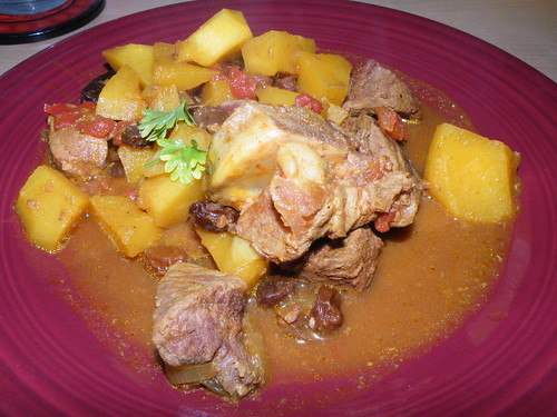 Goat with squash
