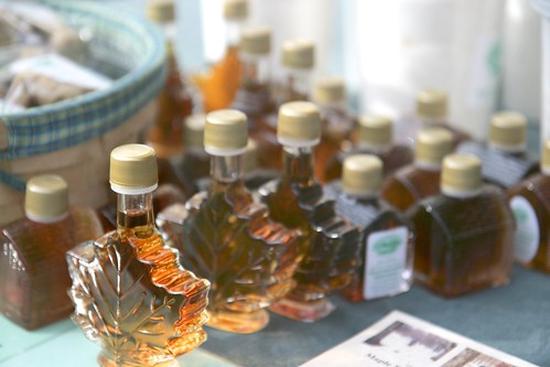 maple syrup, at the union square greenmarket