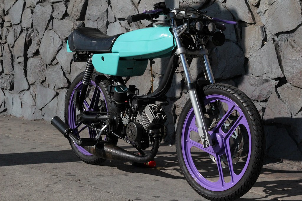 saw this on craigslist LA — Moped Army