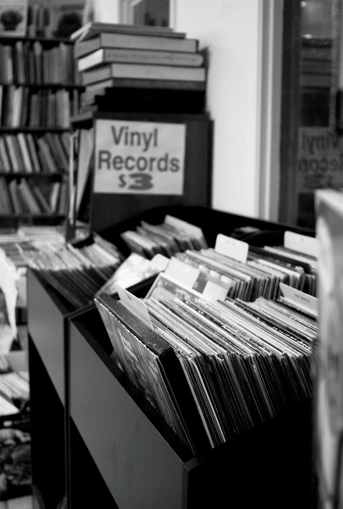 Vinyl Records $3
