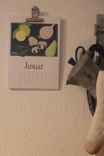 this years calendars.