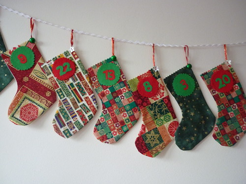 Advent Stockings