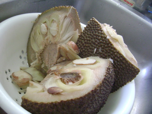 Cooked jackfruit