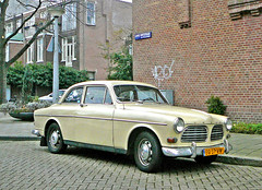 Volvo 121 Amazon, 1965, Amsterdam, James Wattstraat, 12-2011