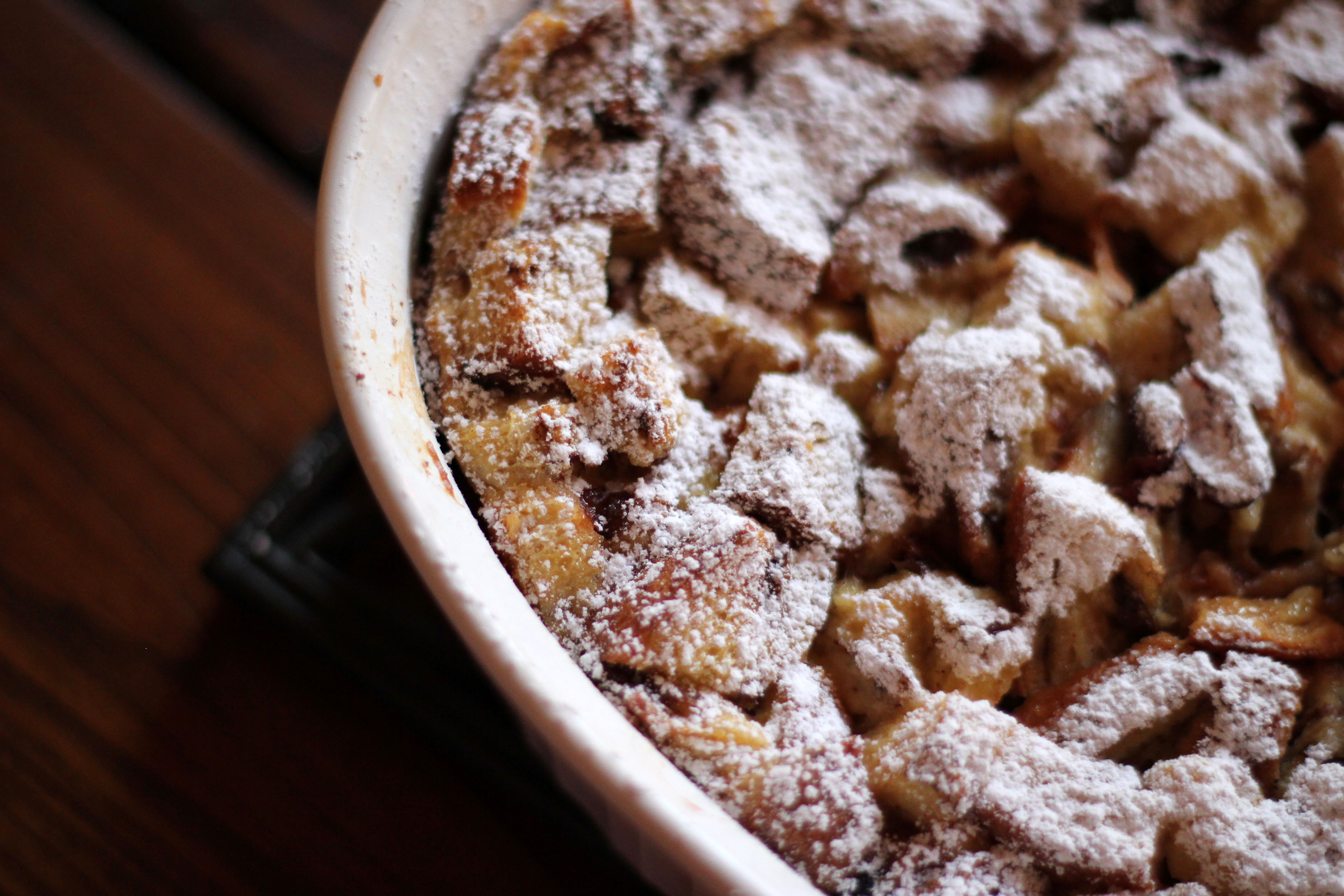 the traditional french toast casserole