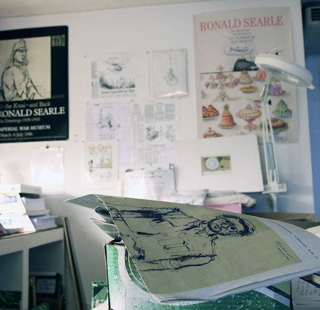 Ronald_Searle-studio-10