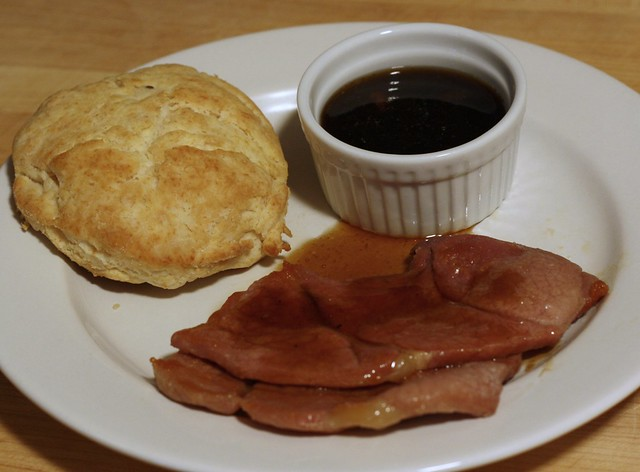 Country Ham with Red Eye Gravy