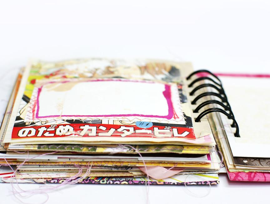 pink junk journal 007