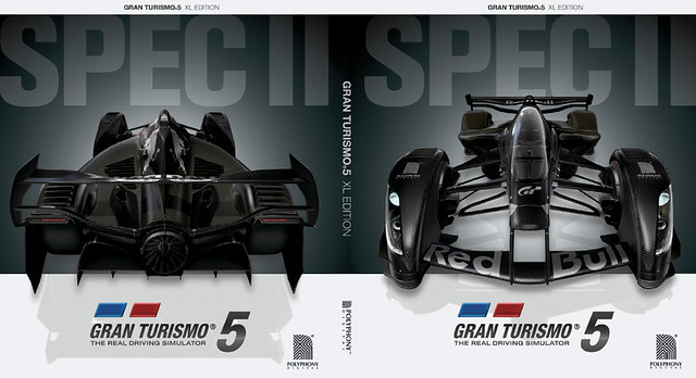 Gran Turismo 5 XL Edition for PS3: Reversible Coverslip