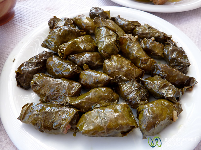 Dolmades (Stuffed Grape Leaves) - Crete, Greece | Flickr ...