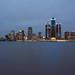 Postcard Detroit by Notkalvin