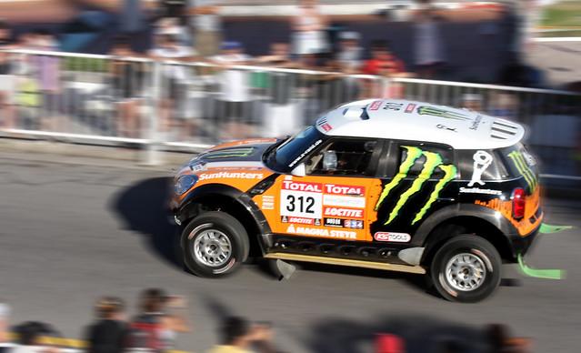 Largada Rally Dakar 2012 Novisky