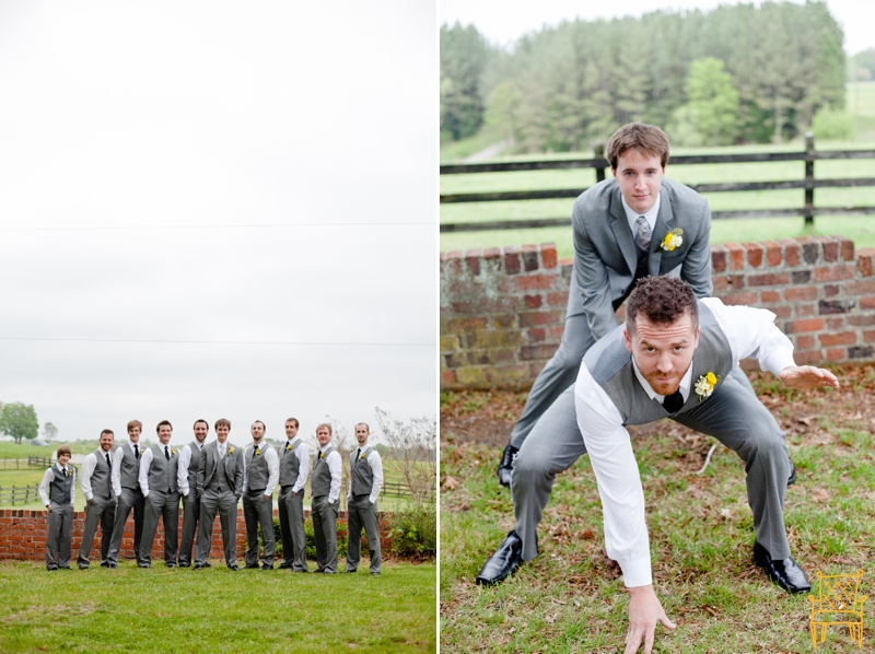 gray and yellow outdoor vintage wedding_032