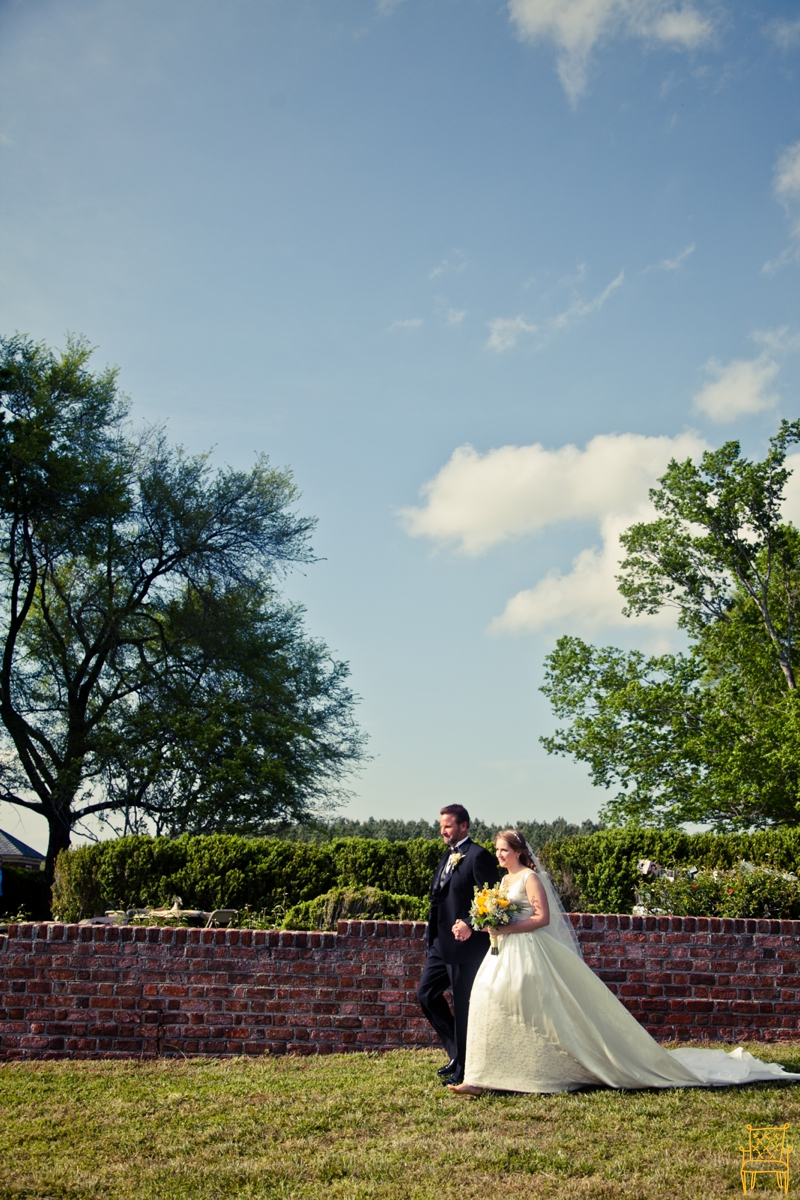 gray and yellow outdoor vintage wedding_050