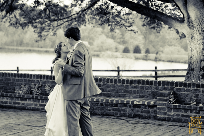 gray and yellow outdoor vintage wedding_073