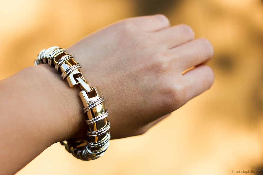 Celeste Silver Roped Bracelet 2