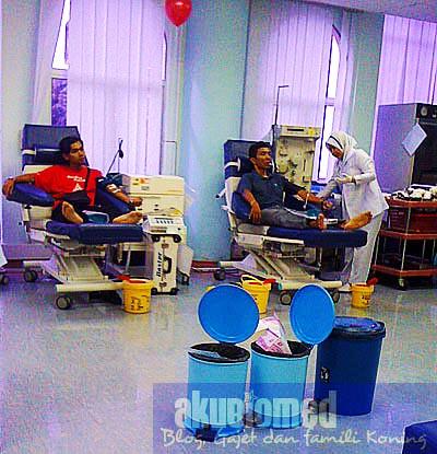 Penderma darah derma darah di PDN