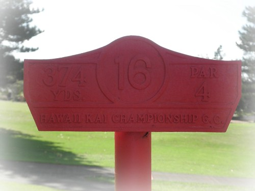 Hawaii Kai Golf Course 177b