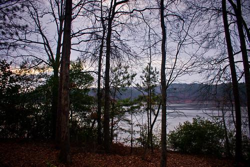 trees sky lake nature water sunrise georgia lagrange troupcounty westpointlake thesussman sonyalphadslra550 sonyalphadslra500