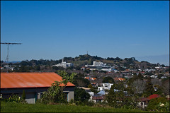 View from the Yapping House Motel in Mount Eden